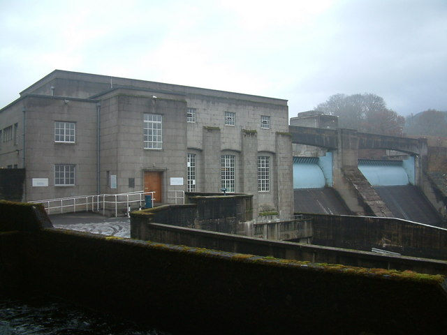 Pitlochry Power Station & Dam