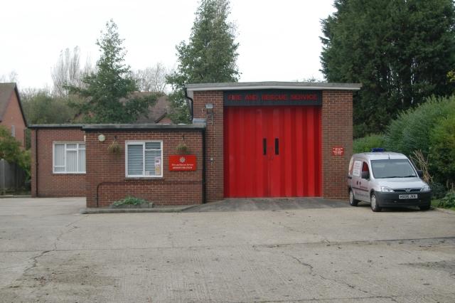 Bishops Waltham fire station