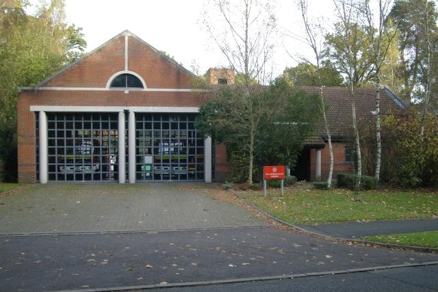 Bordon fire station