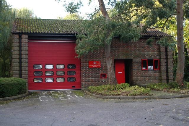 Yateley fire station