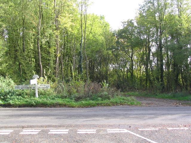 Sucksted Green Cross Roads