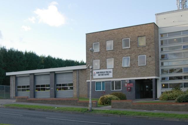 Dee Road fire station