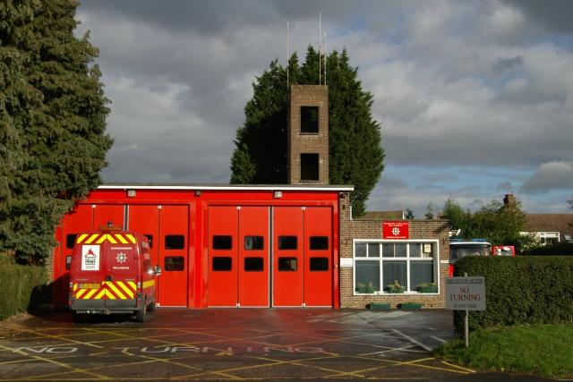 Amersham fire station