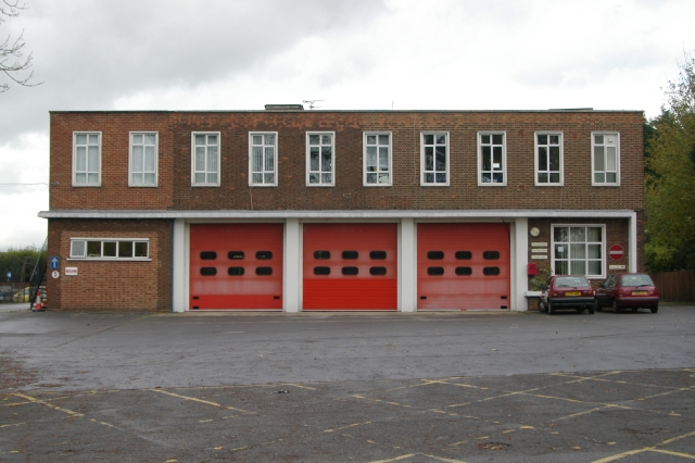 Potters Bar fire station