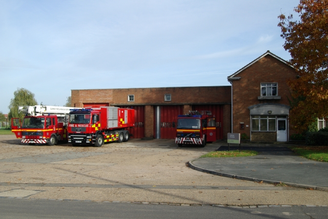 Chertsey fire station