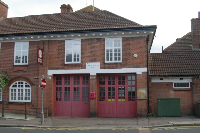 Bushey fire station