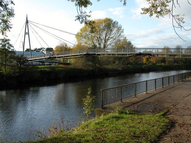 The Sabrina Bridge, Worcester