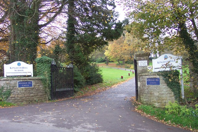 Entrance to Kingham Hill School
