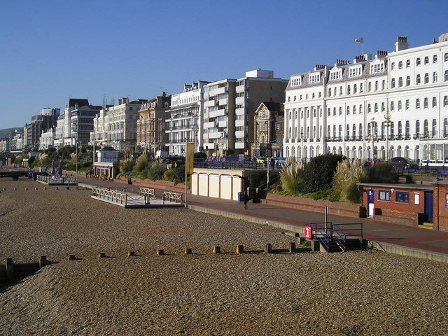 Eastbourne from the pier