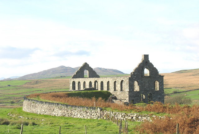 Ty Mawr Ynyspandy, Cwmystradllyn