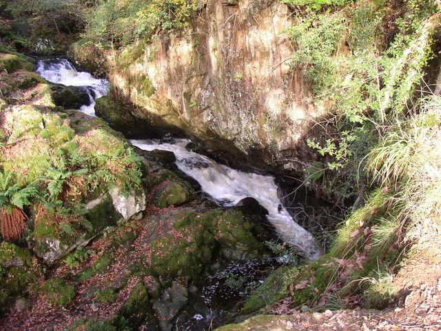 Rapids on Aira Beck, Watermillock township, Matterdale CP