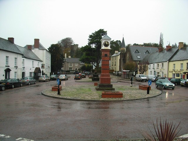 Clock tower, Usk