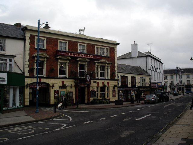 The White Hart and Bridge Street, Andover