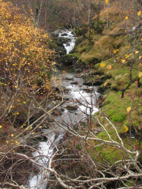 Allt a'Chuilinn gorge