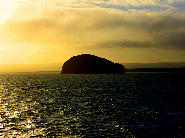 Bass Rock from the Rosyth-Zeebrugge ferry