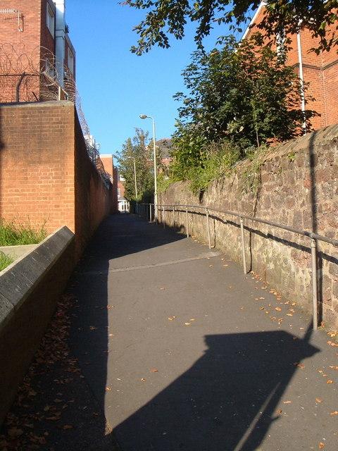 Prison Lane, Exeter