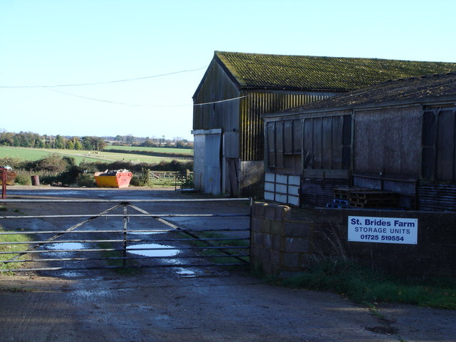 St Brides Farm, near East Martin