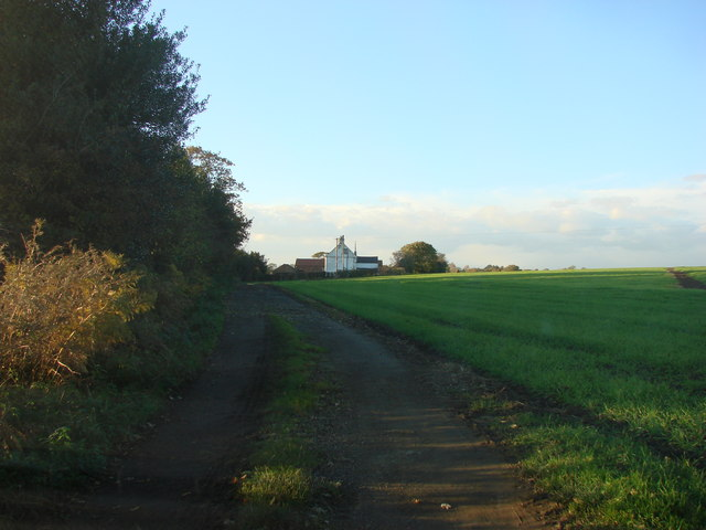 Intake Lane, Looking towards Hollins Farm
