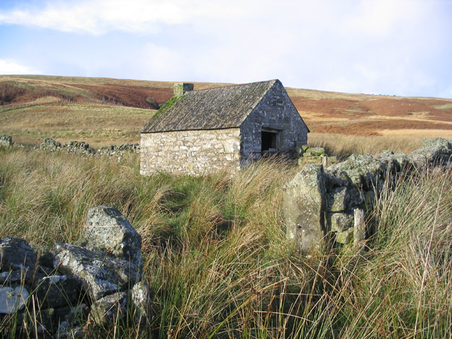 Sheepfold and storage building