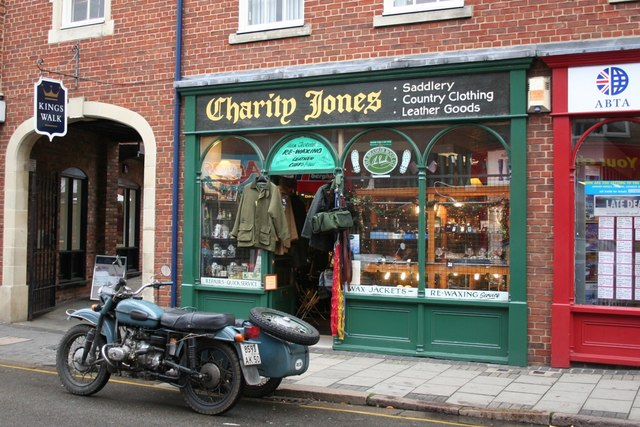Charity Jones in Guildhall Street