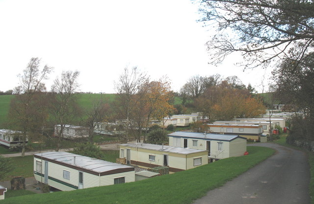 Residential Caravan Park at Glasgoed Hall