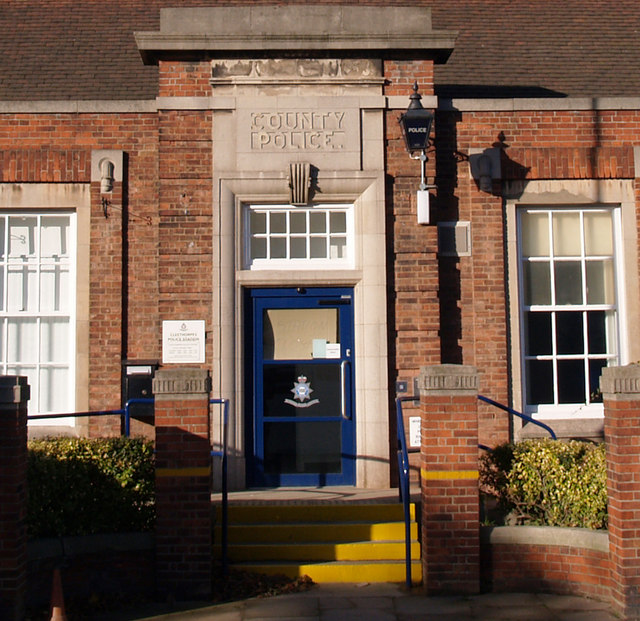 Cleethorpes Police Station - Entrance