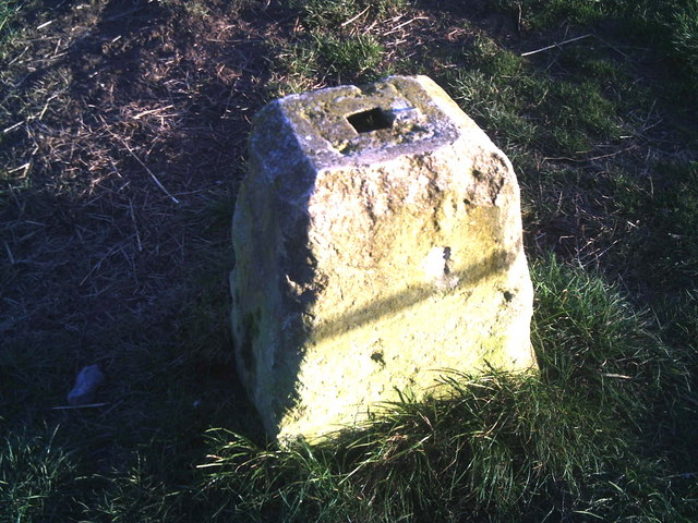 Staddle stone base at Rookery Farm