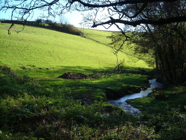 Stream between Yanston and Idestone