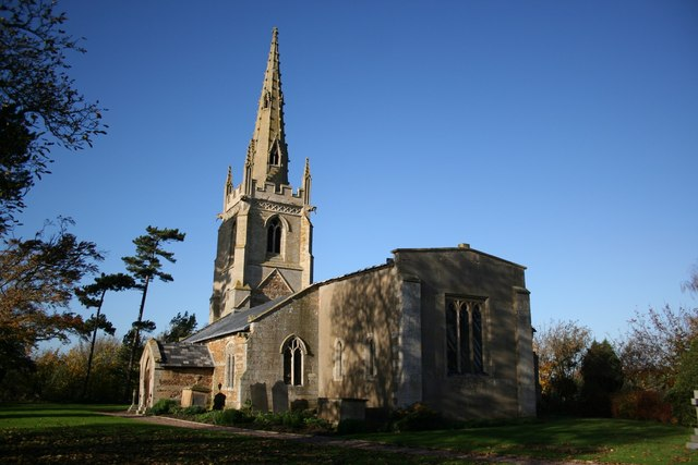 All Saints' church, Fenton