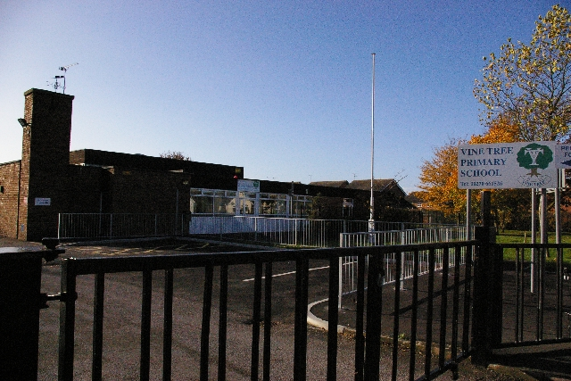 Vine Tree Primary School, Dane Bank Avenue
