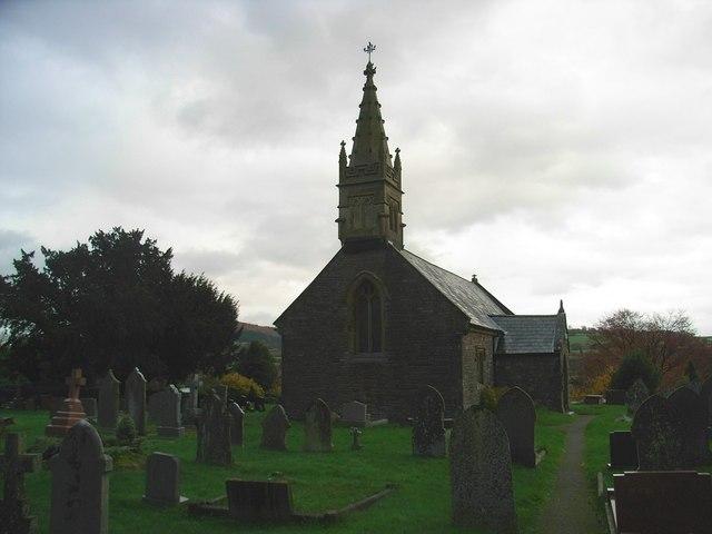 Llanellen Church