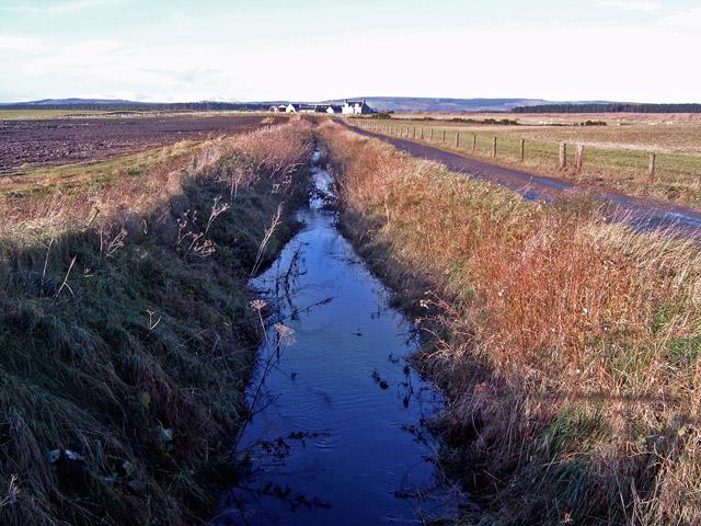 Roadside ditch near Ballinreich