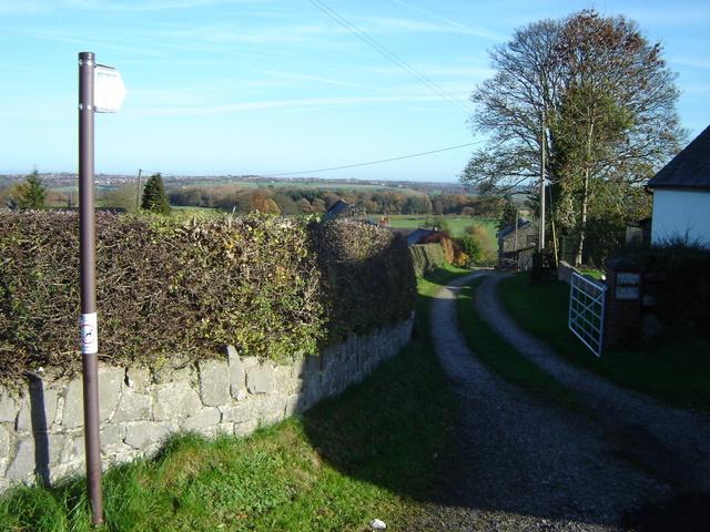 Footpath in Nercwys