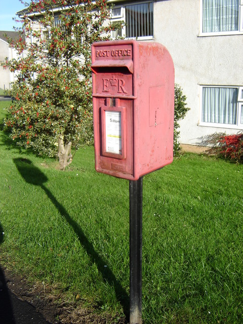Post box in Nercwys