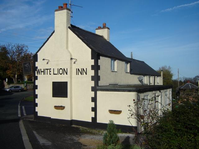 White Lion Inn public house, Nercwys
