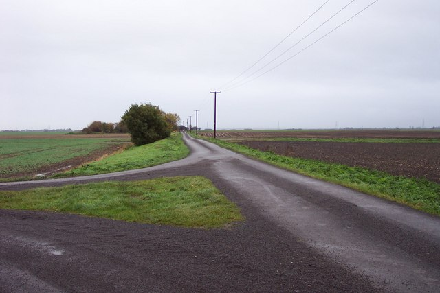Lane going onto Cock Fen