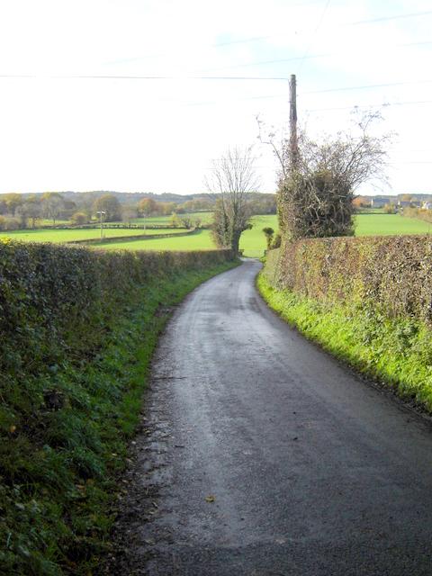 Ffordd Llewellyn, Nercwys