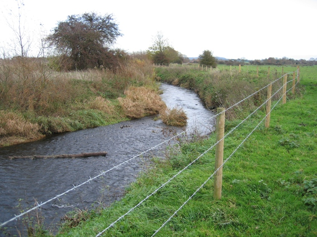 River Alyn/Afon Alun near Ithell's Bridge Farm