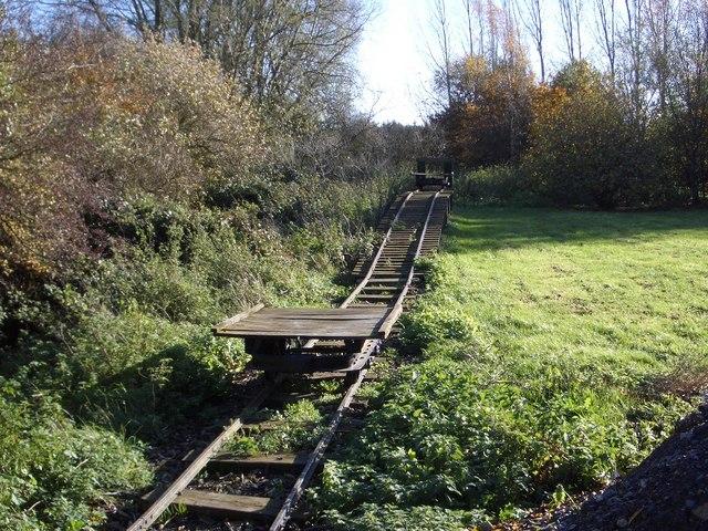 Potato Railway at Vine House Farm
