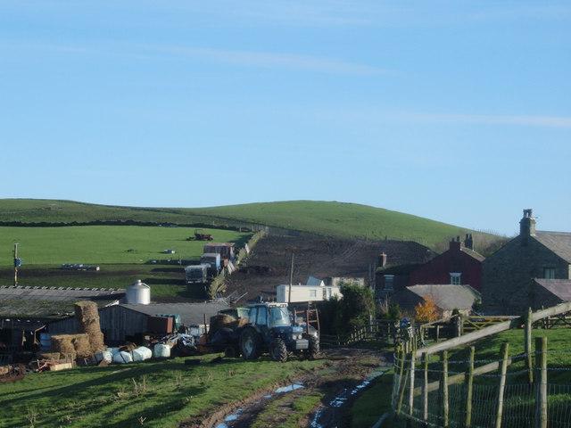 Approaching Brink Farm