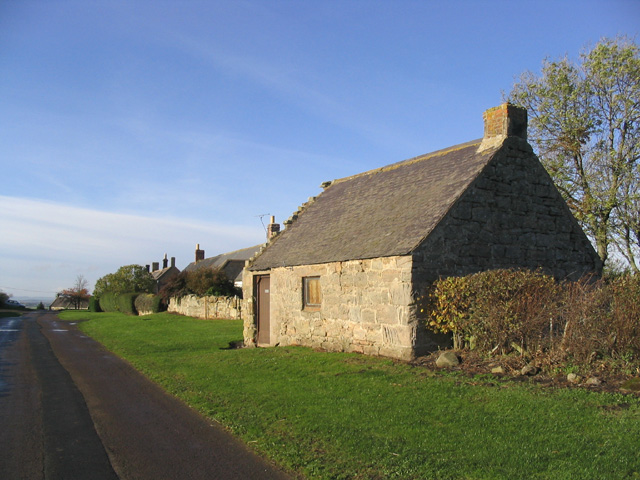 Old building at Felkington