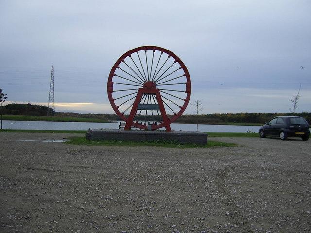 Pit Winding Wheel
