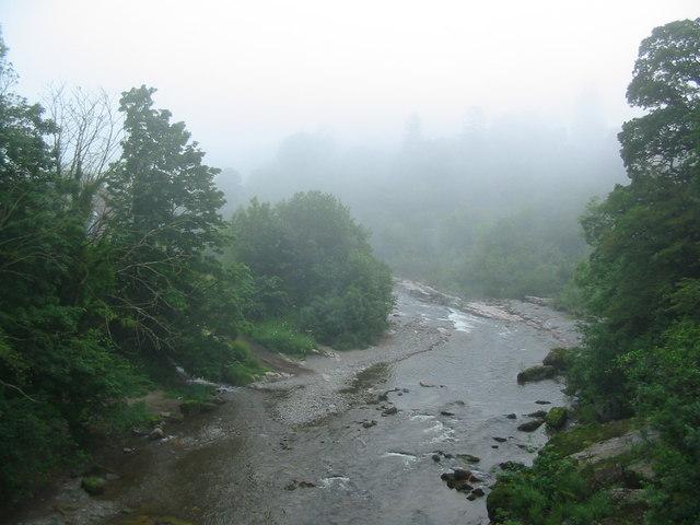 River Esk at the Gilnockie Brig