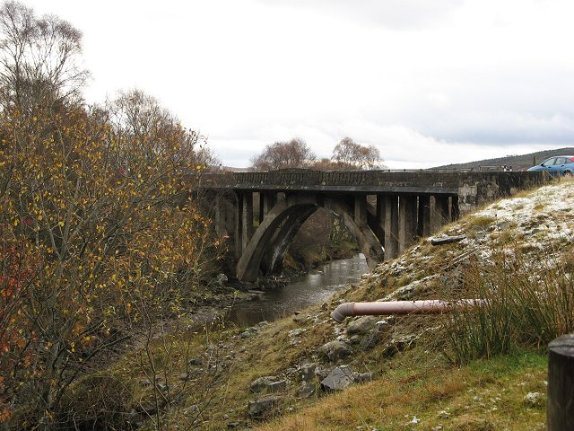 Old A9 bridge, Dalnamein