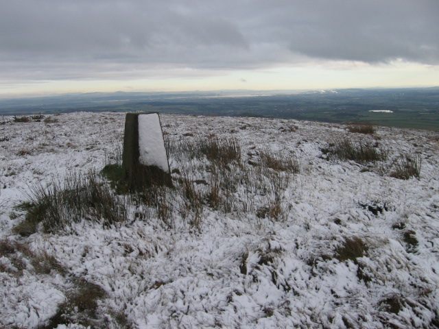 Trig point S3645 on Birns