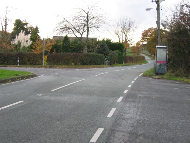 Road Junction  with Borras Road and Buck Road
