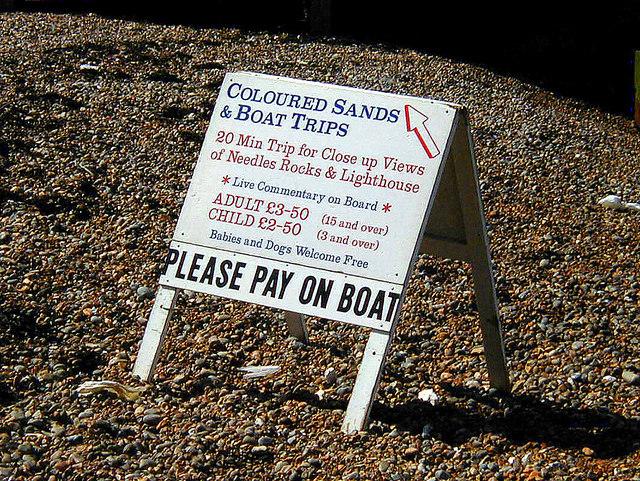 Alum Bay - Coloured Sands & Boat Trips