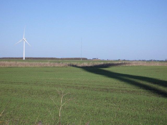 Wind Turbine & Anemometry Mast, Worth's Farm