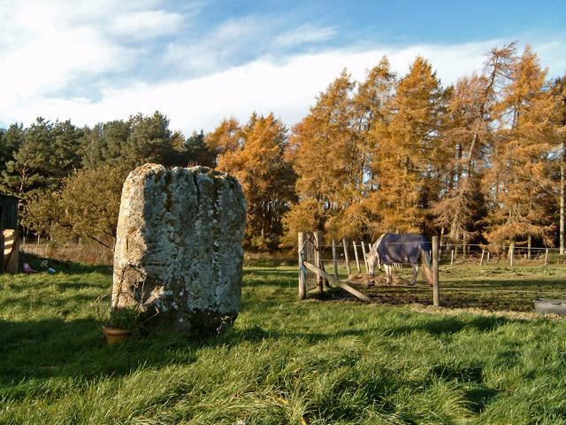 The Kebbuck Stone, Nairnshire (rear face)