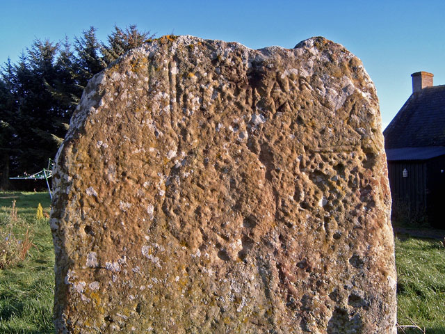 The Kebbuck Stone, Nairnshire (detail)